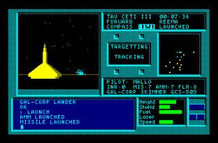 Tau Ceti Amstrad CPC 20
