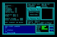 Tau Ceti Amstrad CPC 21