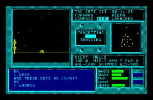 Tau Ceti Amstrad CPC 23