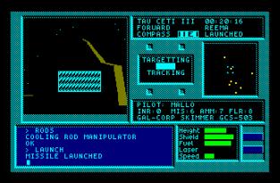 Tau Ceti Amstrad CPC 31