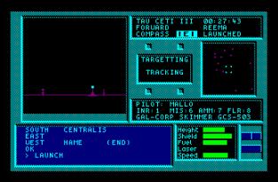 Tau Ceti Amstrad CPC 34