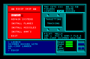 Tau Ceti Amstrad CPC 42