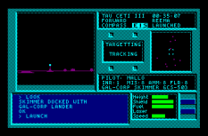 Tau Ceti Amstrad CPC 44