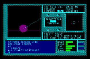Tau Ceti Amstrad CPC 45