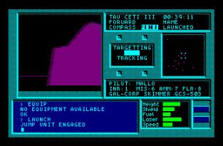 Tau Ceti Amstrad CPC 53