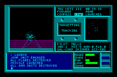 Tau Ceti Amstrad CPC 55