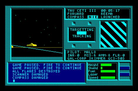 Tau Ceti Amstrad CPC 59
