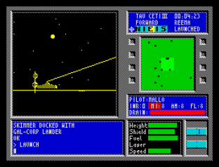 Tau Ceti ZX Spectrum 09