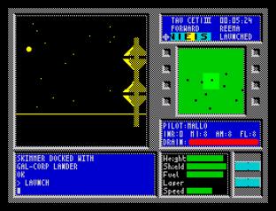Tau Ceti ZX Spectrum 12