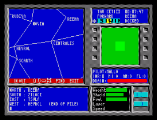 Tau Ceti ZX Spectrum 20
