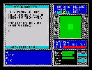 Tau Ceti ZX Spectrum 23