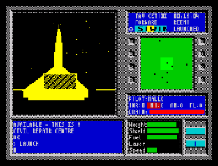 Tau Ceti ZX Spectrum 31