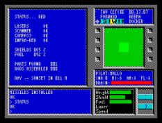 Tau Ceti ZX Spectrum 33