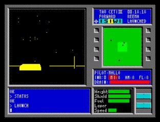 Tau Ceti ZX Spectrum 34