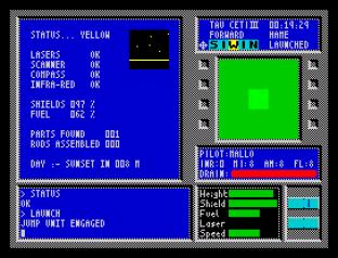 Tau Ceti ZX Spectrum 42