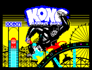 Kong Strikes Back ZX Spectrum 01