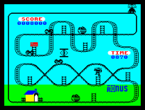 Kong Strikes Back ZX Spectrum 03