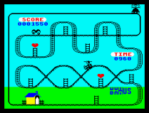 Kong Strikes Back ZX Spectrum 07