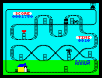 Kong Strikes Back ZX Spectrum 08