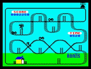 Kong Strikes Back ZX Spectrum 09