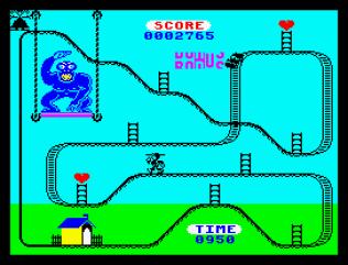 Kong Strikes Back ZX Spectrum 10