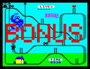 Kong Strikes Back ZX Spectrum 11