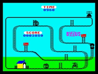 Kong Strikes Back ZX Spectrum 12