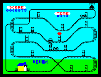 Kong Strikes Back ZX Spectrum 19