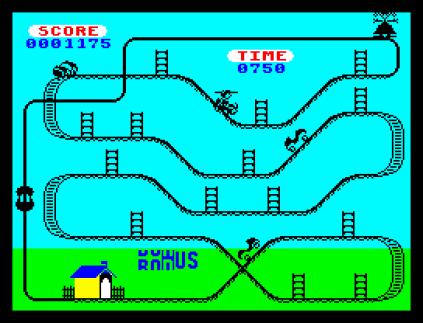 Kong Strikes Back ZX Spectrum 20