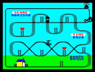 Kong Strikes Back ZX Spectrum 21