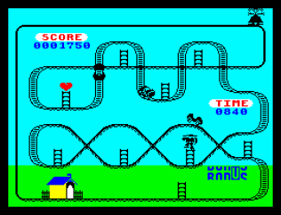 Kong Strikes Back ZX Spectrum 22