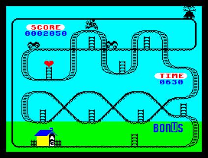 Kong Strikes Back ZX Spectrum 23