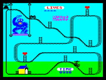 Kong Strikes Back ZX Spectrum 25