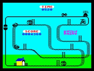 Kong Strikes Back ZX Spectrum 31