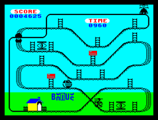 Kong Strikes Back ZX Spectrum 32
