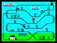 Kong Strikes Back ZX Spectrum 33