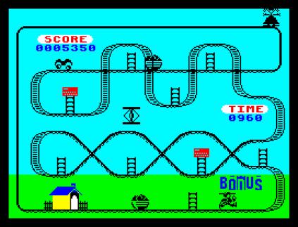 Kong Strikes Back ZX Spectrum 34