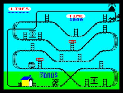 Kong Strikes Back ZX Spectrum 42