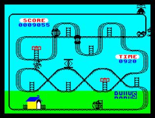 Kong Strikes Back ZX Spectrum 43