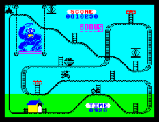 Kong Strikes Back ZX Spectrum 44