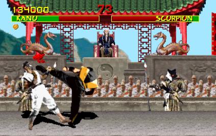 Mortal Kombat Arcade 12