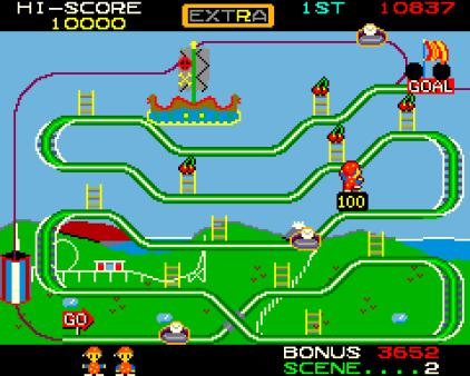 Mr Do's Wild Ride Arcade 09