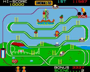 Mr Do's Wild Ride Arcade 10