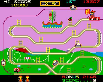 Mr Do's Wild Ride Arcade 12