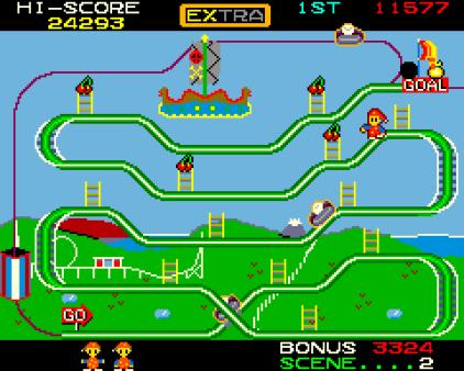 Mr Do's Wild Ride Arcade 23