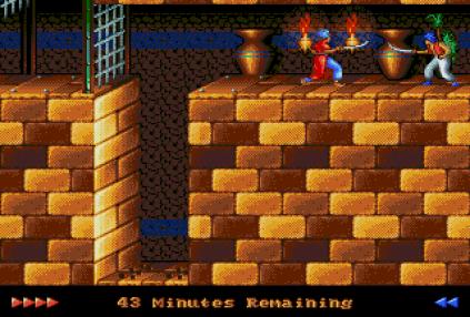 Prince of Persia Megadrive 50