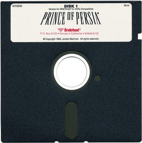 Prince-of-Persia-PC-Floppy