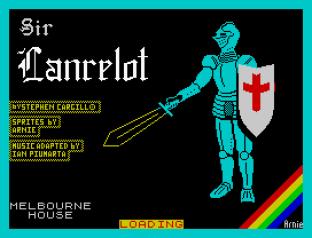 Sir Lancelot ZX Spectrum 01