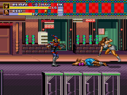 Streets of Rage 3 Megadrive 56