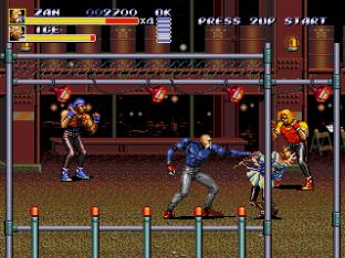 Streets of Rage 3 Megadrive 86